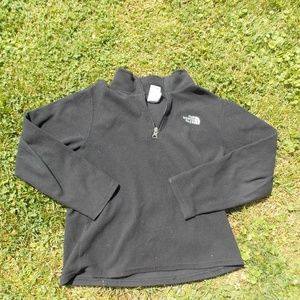 The North Face Youth Boys 1/4 Zip Fleece Size L